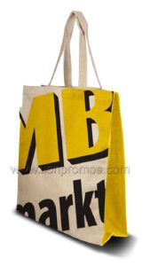 Promotional Gift Jute Material Shopping Bag pictures & photos