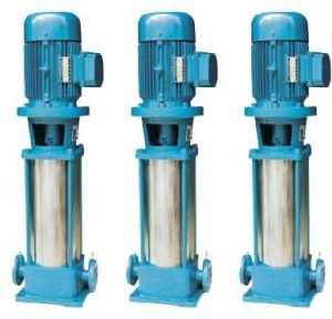 Cast Iron Material Vertical Multistage Pipeline Booster Pump