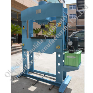 Factory Supply H-Frame Electric Hydraulic Oil Press pictures & photos