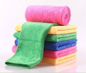 SGS Microfiber Cleaning Cloth Bath Towel Beach Towel