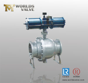 2 Pieces Ball Valve with Pneumatic Actuator