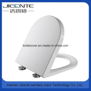 D Shape Polished Toilet Cover in Duroplast pictures & photos
