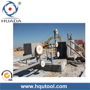 Diamond Wire Saw Machine for Stone Block Trimming pictures & photos