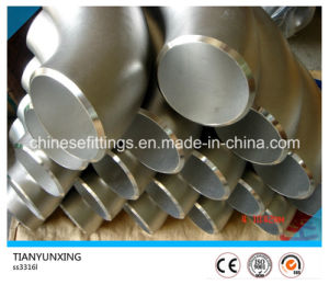 90 Degree Seamless Duplex/Stainless Steel Pipe Fitting Elbow pictures & photos