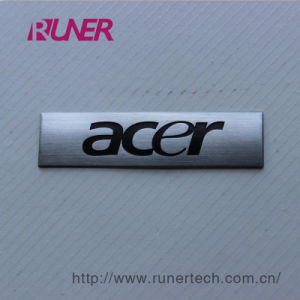 Standard Electroformed Nickel Logo Sign for Digital Product pictures & photos