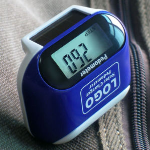 New Style Protable Solar Pedometer pictures & photos