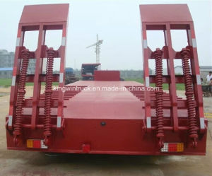 Cimc Brand Low Bed Semi Trailer with Three Axles From China pictures & photos