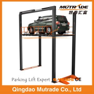 Four Post Hydraulic Floor Car Lift Table pictures & photos
