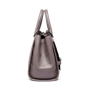 Fashionable Front Lock Boat Shape Women Handbags pictures & photos