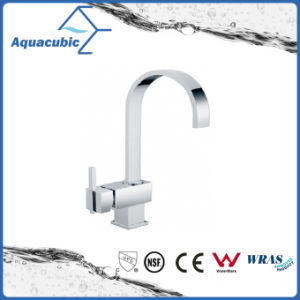 Single Lever Brass Chromed Kitchen Sink Faucet (AF6077-5) pictures & photos