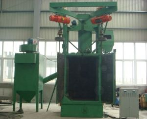 Q37 Single /Double Hook Shot Blast Surface Cleaning Machinery/Abrator pictures & photos