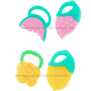 BPA Free Infant Baby Silicone Teether Toy pictures & photos