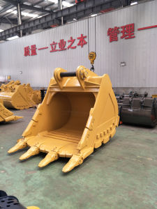 Cat352f 2.6cbm Severe Rock Bucket for Excavator Digging Stone Rock pictures & photos