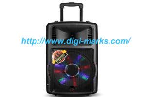 12′′  Mobile Party DJ Wireless Karaoke Trolley Bluetooth   Speaker pictures & photos