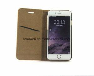 Top Quality OEM Cell Phone Case First Layer Cow Leather Case for iPhone 6 Mobile Phone Cover pictures & photos
