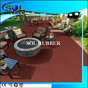 Heavy Duty Area Square Antiskid Rubber Floor Mat pictures & photos