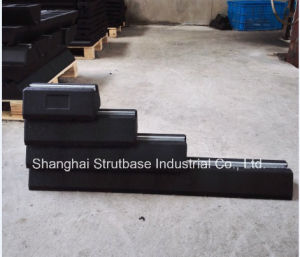 Rubber Pad / Rubber Roof Block C/W 41X21 Channel Steel pictures & photos