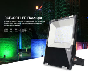 APP Phone Controlled 50W RGB+CCT LED Floodlight 50W pictures & photos