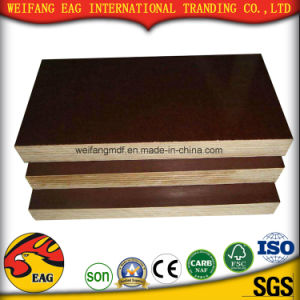 Brown Film Faced Plywood for Concrete Formwork (9-25mm) pictures & photos