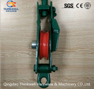 Heavy Duty Crane Snatch Pulley Block with Hook pictures & photos