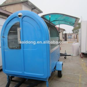 2014 Mobile Food Cart and Van From China Manufacturer