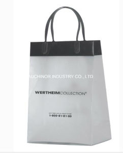 Rigid PE Promotional Price Soft Loop Handle Plastic Bags Plastic Packaging Bags pictures & photos