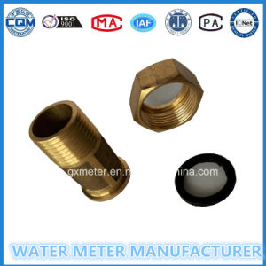 Brass Water Meter Fittings (bolt+nut+gasket) pictures & photos