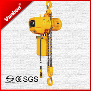 3ton Fixed Type Electric Chain Hoist (WBH-03002SF) pictures & photos