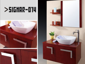 Eco-Friendly Waterproof Customized Wood Bath Wall Cabinet