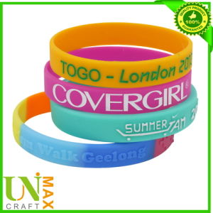 Cheap Rubber Silicone Bracelet Promotion Silicone Wristband Custom Rubber Wristband