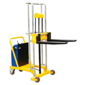 Light Duty Type Counter Balance Weight Electric Lifting Fork Stacker pictures & photos