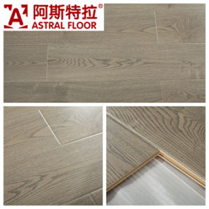 12mm Mirror Surface (U Groove) Laminate Flooring (AS1035) pictures & photos