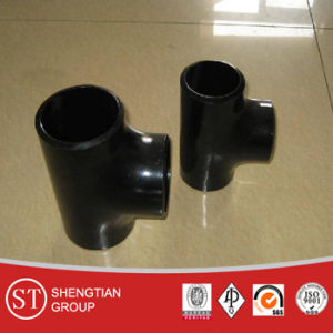 Steel Tee Buttweld Pipe Fitting pictures & photos