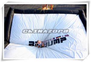 Inflatable Big Air Bag for Adventure Snowboard Stunts