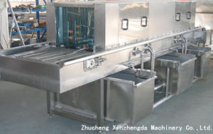 Fast Food Tray Washing Machine for Large Production pictures & photos