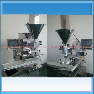 Table Type Automatic Pastry Encrusting Stuffing Filling Machine pictures & photos