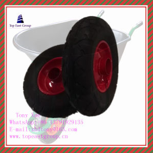 3.00-8, 3.25-8, 3.50-8, 400-6, 4.00-8 High Quality Long Life Rubber Wheel pictures & photos