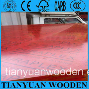 Phenolic Construction Formwork Plywood/Red Film Plywood pictures & photos