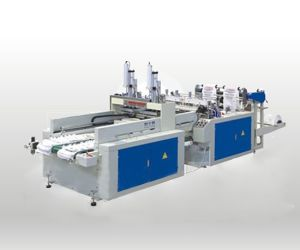 Automatic High Speed T-Shirt Bag Making Machine pictures & photos