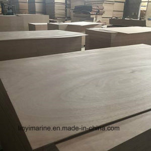 18mm Okoume Plywood with Poplar Core for Furniture pictures & photos