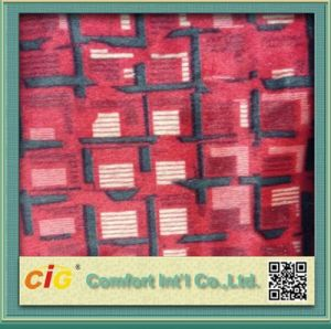 Popular Design Print Polyester Fabric pictures & photos