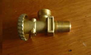 Brass Valve for Haiti 12.5kg Refillable LPG Cylinder