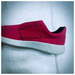Clothes Upper of PVC Shoes with Injection Outsole pictures & photos