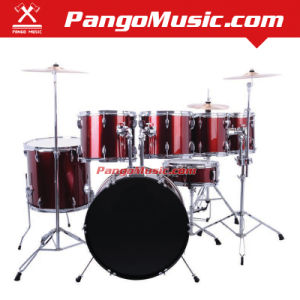 7-PC Red Color Drum Set (Pango PMDM-880) pictures & photos