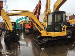 Used MIDI Excavators Komatsu PC55 PC50 PC60 Used Made in Japan Good Condition pictures & photos