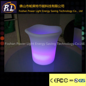 Garden Furniture Rechargeable Glowing LED Garden Pot pictures & photos