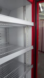 Upright Single Glass Door Refrigerating Showcase (DBQ-318L) pictures & photos