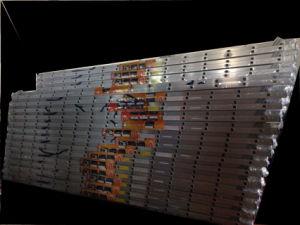 Aluminium Tool Stool Scaffold Work Platform Fold Household Multipurpose Extension Telescopic 2 Section Ladder with CE/En 131 8.1m
