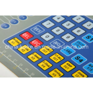 Rear Adhesive Membrane Keyboard with LED Window pictures & photos