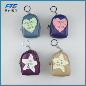Customized Gift Cheap Leather Wholesale Girl Coin Purse pictures & photos